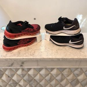 Asics Shoes - Nike and ASICS running sneakers size 6 1/2